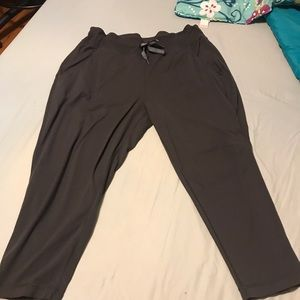 Lululemon grey harem pants size 12